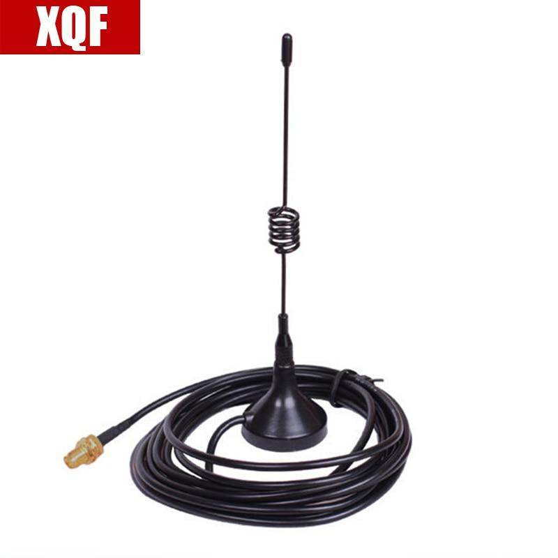 UHF 400-470MHz SMA-Female Magnetic Mount Base Antenna For Baofeng Radios
