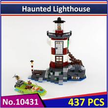 BELA 10431 Compatible Legoes Scooby Doo Haunted Lighthouse 75903 Building Block Figure Model Educational Toys For Children(China)