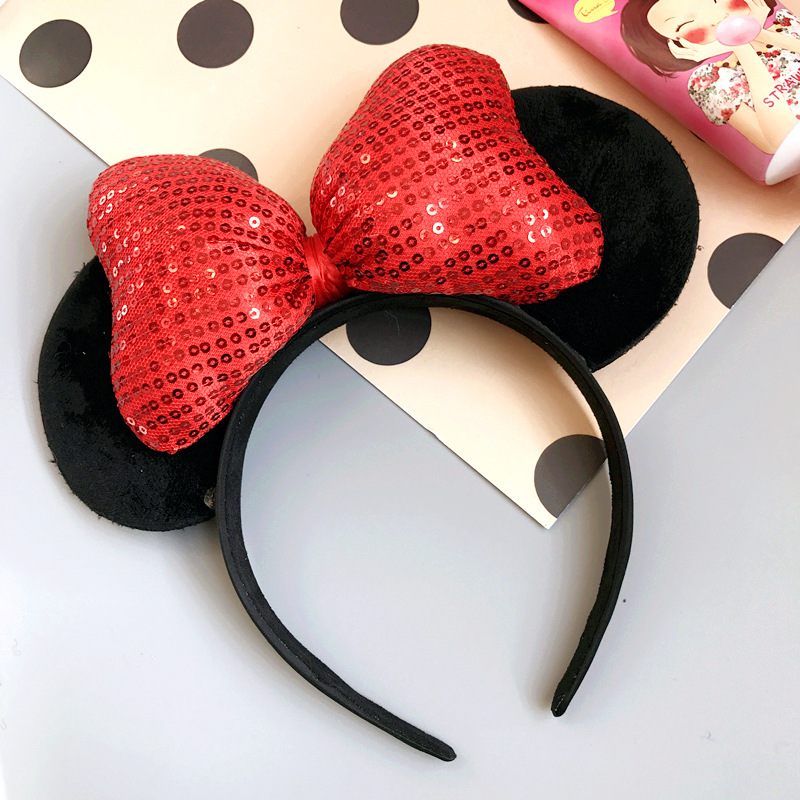 Korean Fashion Red Bowknot Hair Jewelry Cloth Weave Ribbon Bow Barrettes Elegant Women Haigrips Hair Clips For Girls Headwear Jewelry & Accessories