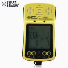AS8900 Multi-Gas Monitor Handheld gas detector Oxygen O2 Hydrothion H2S Carbon Monoxide CO Combustible Gas 4 in 1 gas analyzer