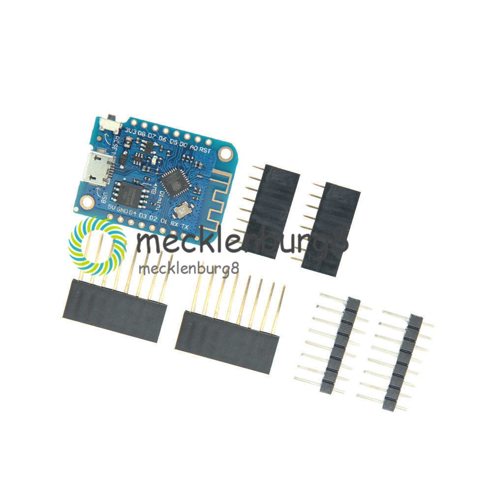 Wemos D1 Mini V3.0.0 WIFI Internet of Things ESP8266 CH340 4MB Development Board