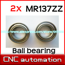 2pcs MR137 MR137Z MR137ZZ Miniature Bearings Mini Ball Bearing 7 X 13 X 4mm radial shaft