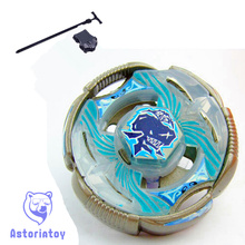 1pcs Beyblade Metal Fusion 4D set BB82 T125RS Grand Ketos kids game toys children Christmas gift with Launcher