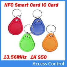 13.56MHz RFID IC uid changeable Key Tags Keyfobs Token writer NFC TAG Keychain For  access control  parking card