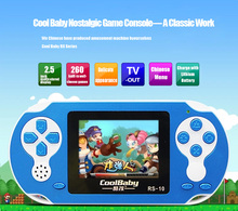 Newest Classic Game Consoles Built 200 Games +30 IN 1 8BIT Children's Handheld Game player Console