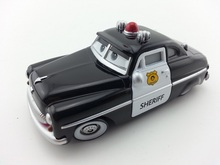 Pixar Cars Sheriff Metal Diecast Toy Car 1:55 Loose Brand New In Stock & Free Shipping