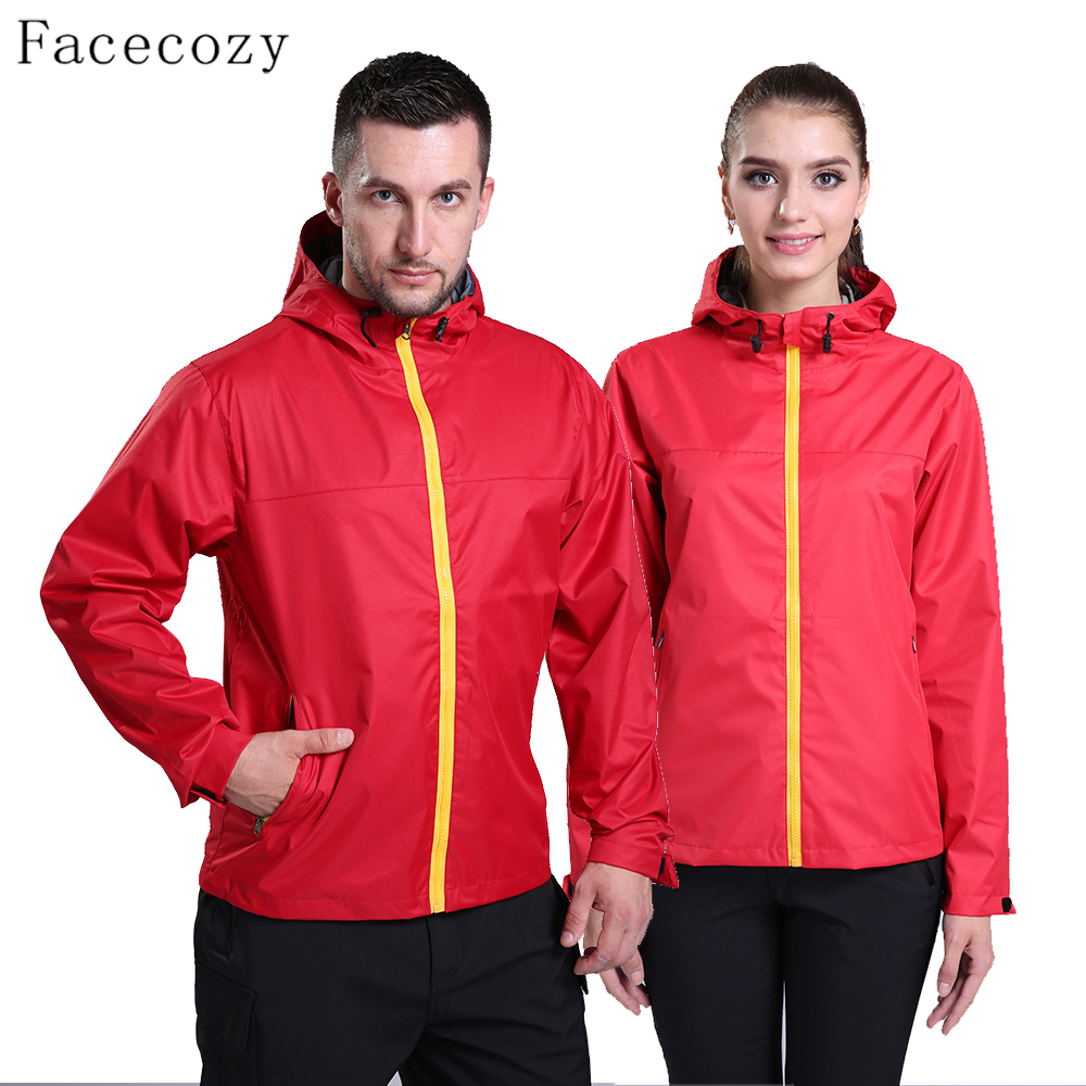 Facecozy Wome&amp;Men Autumn Outdoor Hiking Monolayer Jacket Couples Breathable Camping Hooded Thin Clothes<br><br>Aliexpress