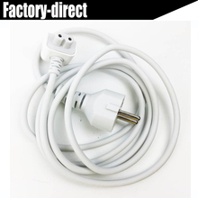 Duck head 1.8M Europe EU AC Power Extension Cable cord for Macbook Power Adapter ipad charger