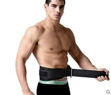 Waist supporter gym belt tourmaline float belt ceinture amaigrissants cotton back sport belt fitness for men waist protector