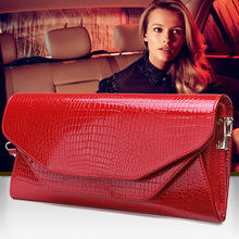 2017 new female bag flip long paragraph leather handbag ladies first layer of leather double layer bag