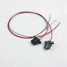 4x 50cm Wires For OEM Volkswagen Door Warning Light extension Cable/Harness/Connector/Plug/Sockets For VW Golf Jetta MK5 Passat