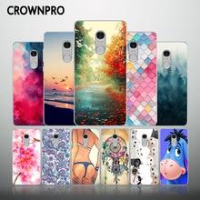 CROWNPRO Redmi Note 4 Case Silicone Xiaomi Redmi Note 4 Pro Prime 64G Soft TPU Back Cover Xiaomi Redmi Note4 Cute Phone Cases