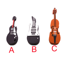Guitar violin pen usb flash drive 64g pen drive 32g pendrive 16g music Usb flash drive 8g 4g memory stick U disk pendrive