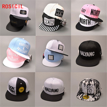 ROSICIL 2017 New arrival custom hip hop snapback for men women boy girl cute stats novelty cool hat baseball cap