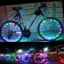 Bicycle LED Lights Bike Strip Safety Night Flashing For Cycling Spoke Wheel Lamp