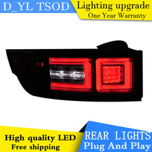 Car Styling Tail Lamp for Land Rover Evoque LED Tail Light 2013-2015 New Altis LED Rear Lamp LED DRL+Brake+Park+Signal Stop Lam(China)