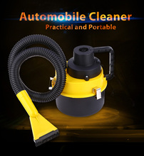 Portable Car Cleaner 12V Large Capacity Air Inflation Three Sucker Large Capacity Air Inflation Three Suckers Car Cleaning Tool