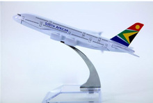 plane model A380 South African Airways aircraft A380 Metal simulation airplane model for kid toys Christmas gift
