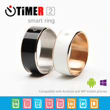 JKZ Jewelry rings Smart Ring Par for xiaomi band 2 more trend   bracelets stunning couple rings gift Free Shipping  Use Android