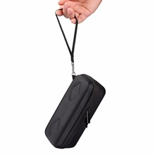 Carrying Wireless Bluetooth Speaker Case For Anker SoundCore With Mesh Dual Pocket Audio Cable Travel Bag With Hand Strap zipper