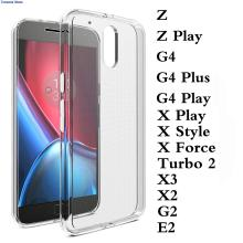 Thin Cover For Moto Motorola E3 Power X 2017 M G5 G4 Play Plus Z Force X Style Play Force Droid Turbo 2 G3 TPU Rubber Soft Case