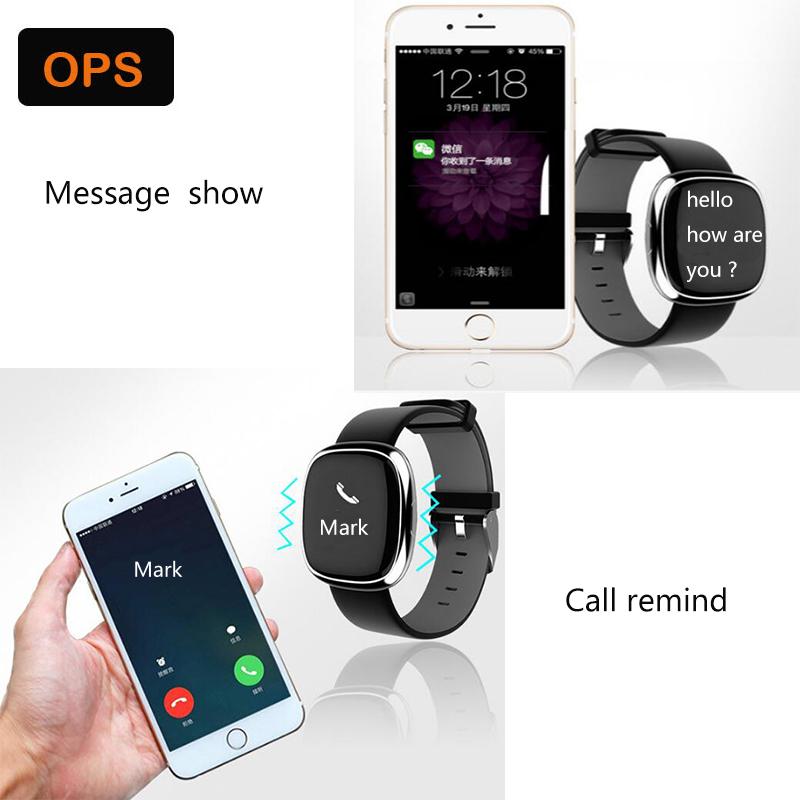 Waterproof Smart Bluetooth Heart rate Sport Sleep Tracker Wristband ,Bracelet&Intelligente beweging volgen voor De man en de vr 9