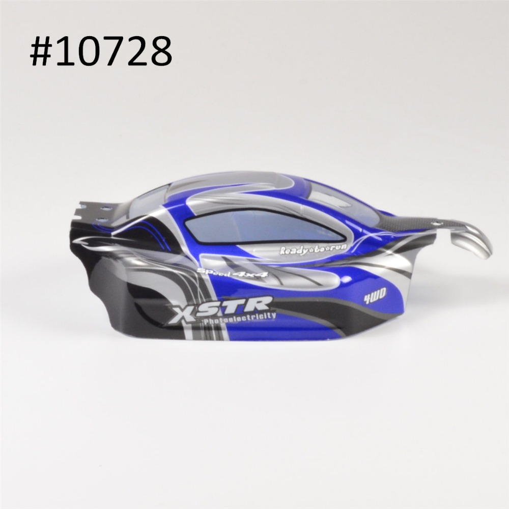 HSP 1/10 Off-Road Buggy Bodyshell No. 10728 31*17.6cm RC Car Electric RC Car Bodyshell For 94107/94107PRO<br>