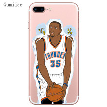 Gumiice phone cases juventus soccer jersey NBA cartoon pattern for iPhone 6 6s 7 7lus(China)