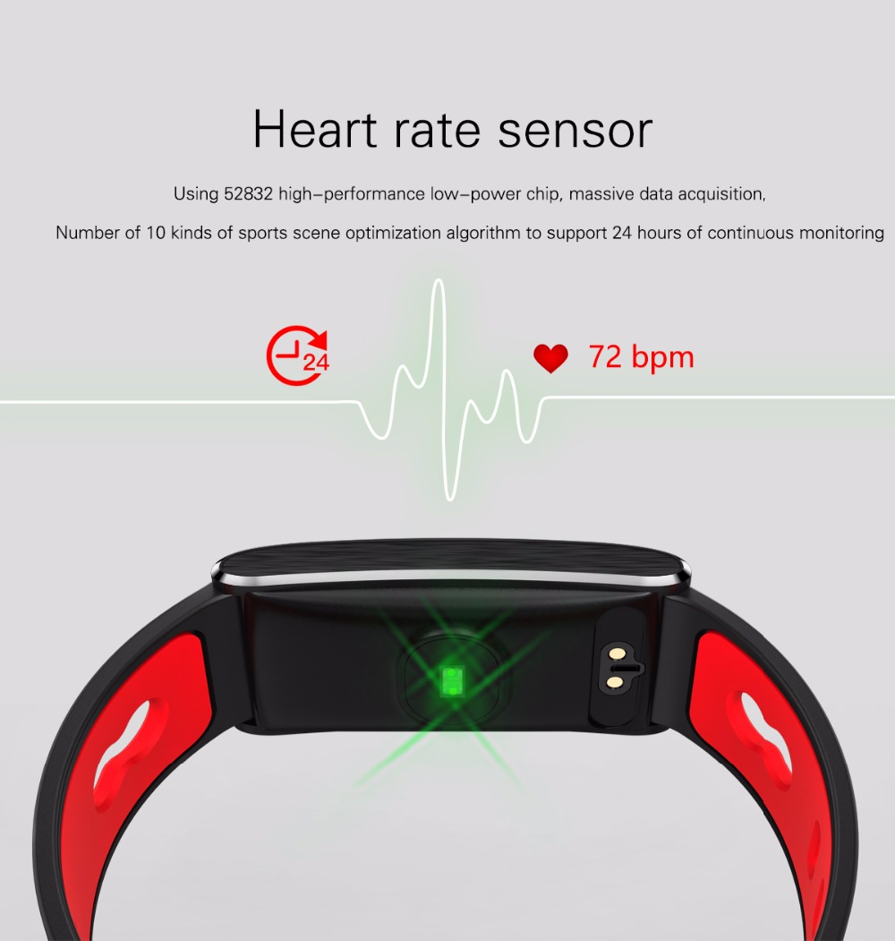 KOWINVIN N168  Color Screen Smart Bracelet Bluetooth Heart Rate Monitor Pressure Blood Oxygen Smart Band Fitness Tracker