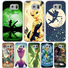 Tinkerbell Hard Transparent Cover Case for Samsung Galaxy S7 Edge S6 S8 Edge Plus S5 S4 S3 & Mini S2