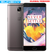 Original OnePlus 3T A3003 Snapdragon 821 Quad Core 5.5 Inch Smartphone 6GB RAM 64GB/128GB ROM Touch ID 16.0MP NFC Mobile Phone(China)