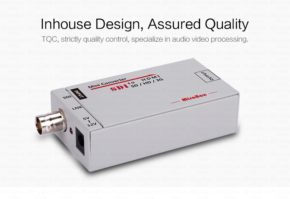 1080P Mini 3G SDI To HDMI Converter With Audio For HD Camera SDI To HDMI Video Converter Mini Box Support SDI3GHD SDI Signal (6)