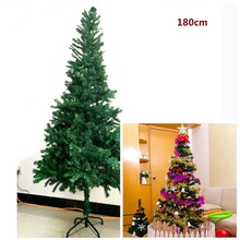 Artificial Christmas Tree Ornaments Tree Christmas 1.8m PVC Artificial tree for Christmas With Decoration Accessories Set
