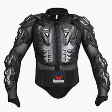 Professional Motorcycle Jacket Body Protector Motocross Racing Full Body Armor Spine Chest Protective Gear Motorcycle Protection(China)