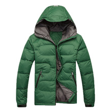 2016 New Arrival Men's Down Jacket Men's Windproof Coldproof Thickened Coat Winter Warm Down Parkas WN 115