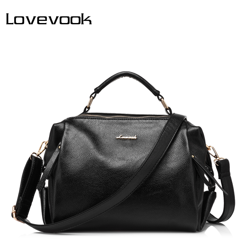 LOVEVOOK brand fashion women handbag female shoulder bag high quality soft ladies crossbody bag PU<br>