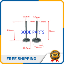 PIT Bike Intake Valve Exhaust Valves Zongshen 250cc CB250cc ATV Go Kart, Moped & Scooter GT-178 - Jinhua Bojo Technology Co., Ltd. store