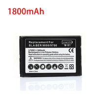 Battery For Blackberry Bold 9000 9700 9780 Replacement Rechargeable 1800mah Mobile Cell Phone batteria(China)