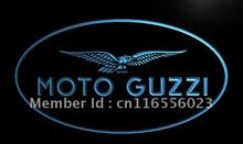 LD488- Moto Guzzi Motorcycle   LED Neon Light Sign     home decor shop crafts