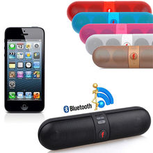Promotion Portable Shockproof Bluetooth Wireless FM Stereo Speaker For iPhone All Smart Phone Tablet