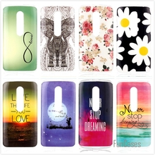 Stylish Printing Cartoon Cute Bear Flower Sunset Owl Cat Silicon Soft TPU+IMD Phone Case For Motorola Moto G3 G 3 3rd Gen Cases