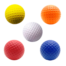 Caiton 6PCS/Pack Foam Practice Golf Ball Golf Training Soft Balls Practice Ball(China)