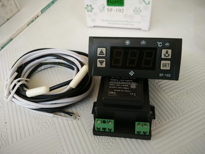 SF-102 electronic temperature controller temperature controller lights defrost freezer refrigerator temperature controller<br>