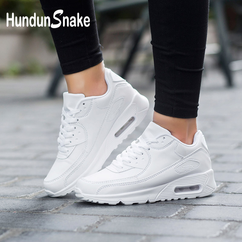 Hundunsnake White Basket Sneakers Sports-Shoes Tennis Krassovki-G-28 Femme Women's Air-Cushion title=