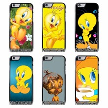 looney tunes Tweety Bird Cover Case For Huawei P8 P9 P10 Lite Honor 8 9 5C 5X Xiaomi redmi note 4 4X 3S 3X Oneplus 3 3T 5(China)