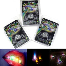 SUN & CLOUD Glow Tooth Light Up Mouthpiece LED Mouth Guard Flashing Teeth Mouth Party Favors