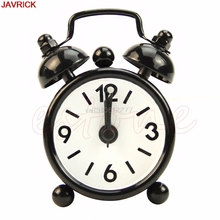 Alarm Clock Fashion Home Room Kid Portable Teen Mini Cute Dial Number Round Desk Alarm Clock #H0VH#(China)