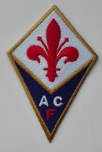 2pcs Football soccer club Serie A ACF Fiorentina Italy CLUB Logo iron on Patch Aufnaeher Applique Buegelbild Embroidered(China)