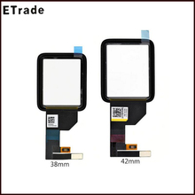 New Sapphire Glass Touch Screen Digitizer for Apple Watch 42mm Touch Screen Replacement Parts Repair+Free Shipping