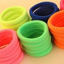 8 pcs/bag Rubber Rope Ponytail Holder Elastic Hair Bands Ties Braids hair clip headband Hair Accessories